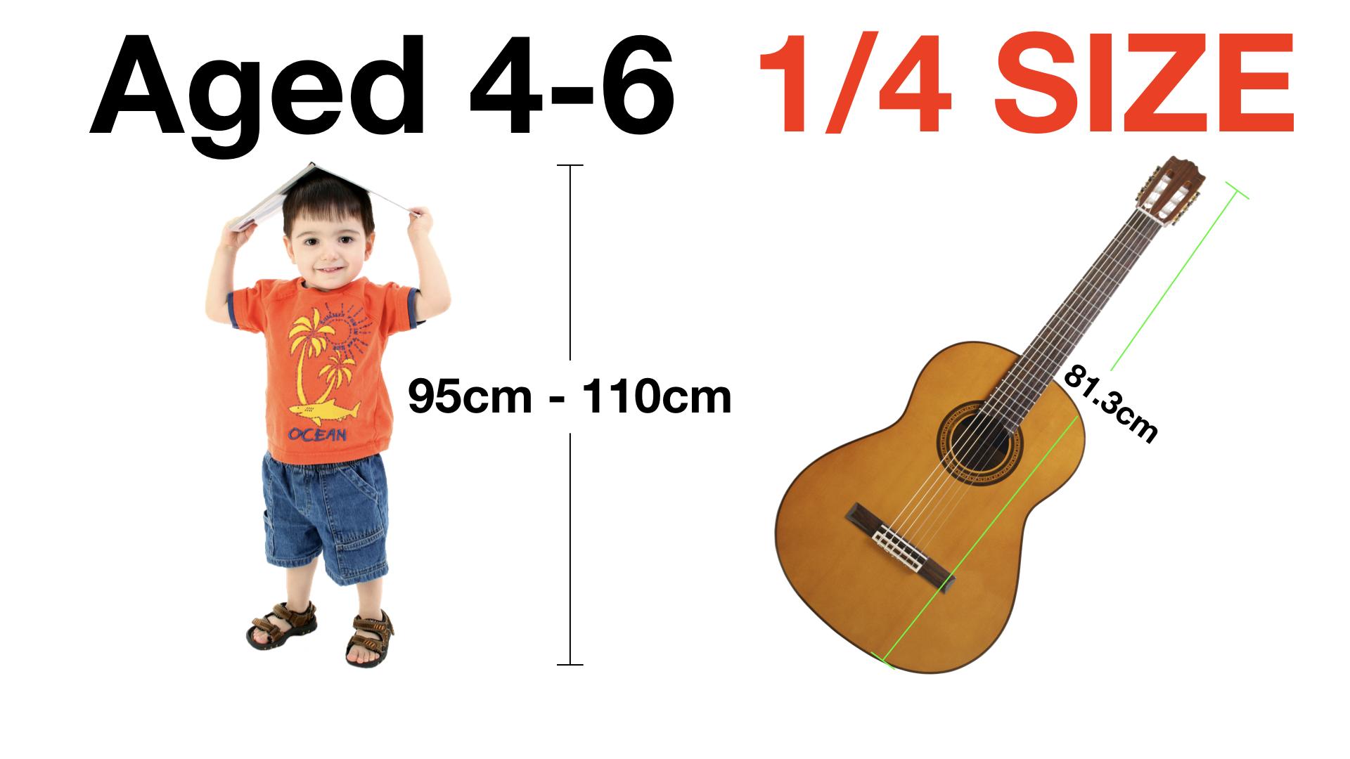 Adrian Curran Starter Guitar Aged 4-6