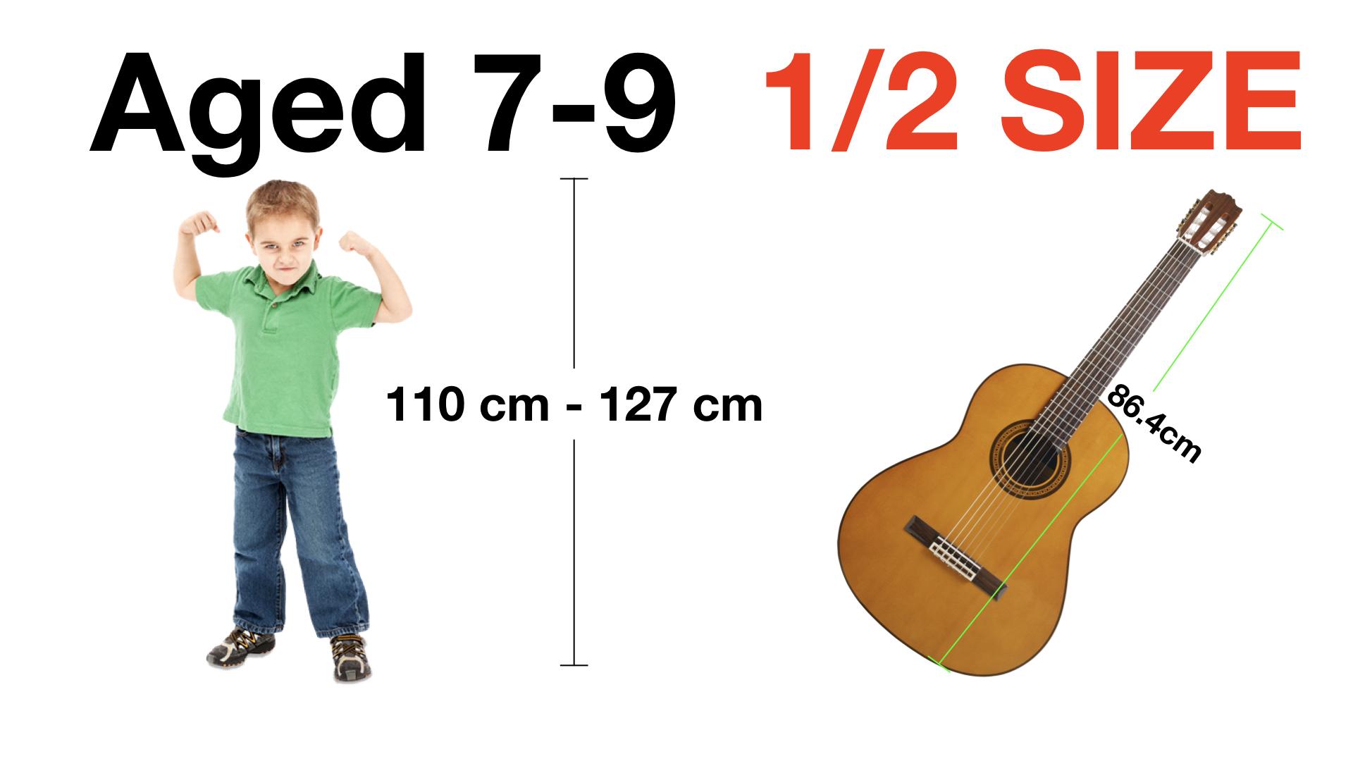 Adrian Curran Starter Guitar Aged 7 - 9