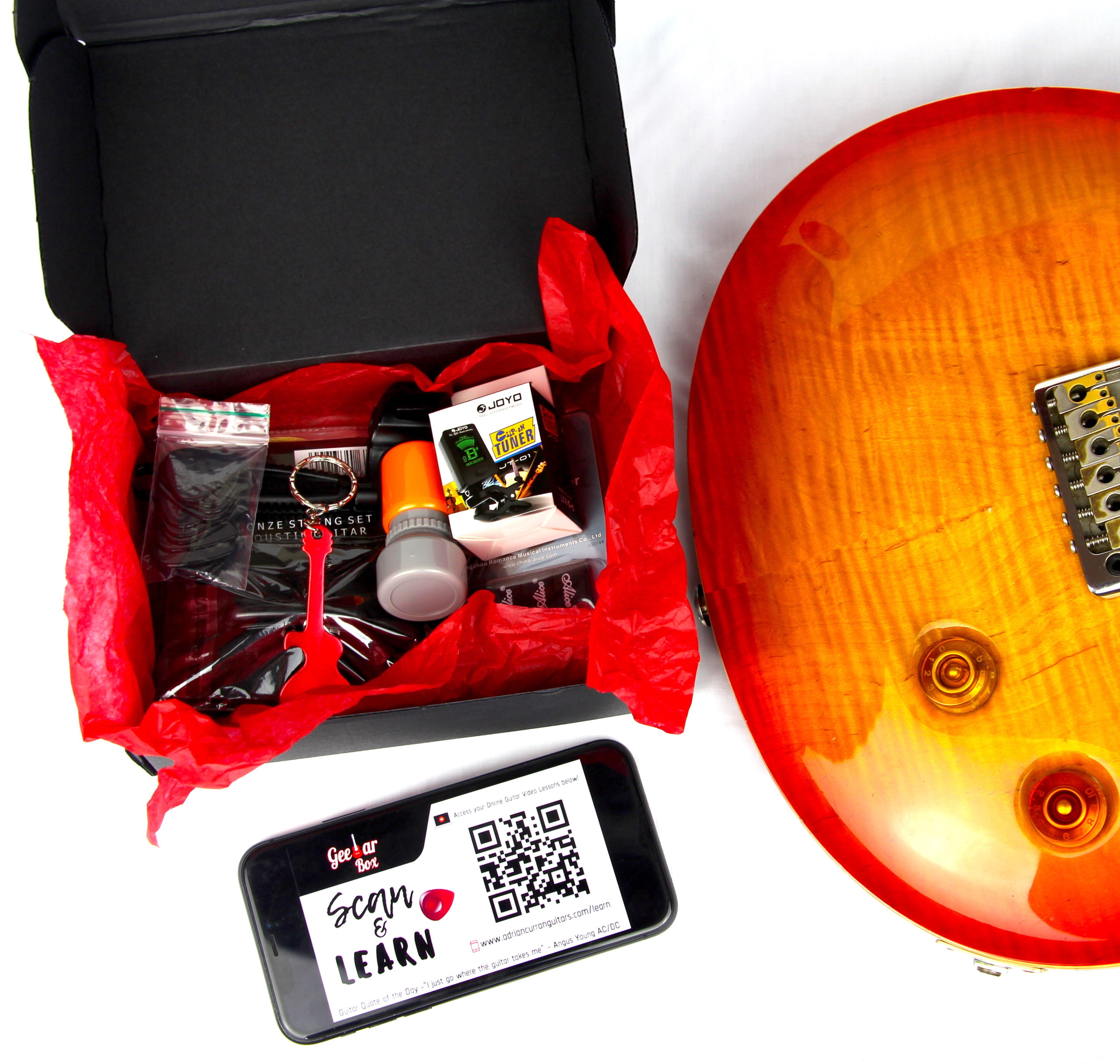 Geetar Box The perfect Gift for a Guitarist